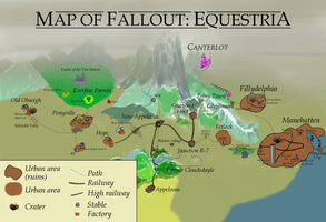 Fallout: Equestria - full MAP by Pete-Bagheera