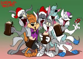 Disorderly Christmas by SuperStinkWarrior