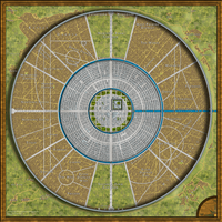 Athenya City Map Redux by DWebArt