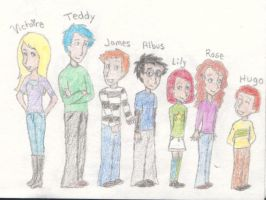 The Weasley-Potter Kids by MissySerendipity