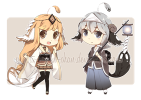 [SET PRICE OPEN 1/2] Purumuteru Set 1 by Chibi-Townshend