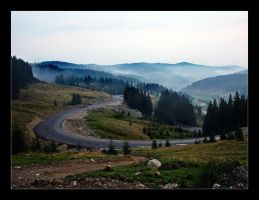 Sinuous Road by purpleseller
