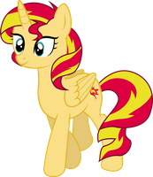 Princess Sunset Shimmer by shaynelleLPS