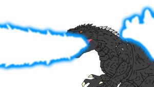 Godzilla's Atomic Ray Test by KingAsylus91