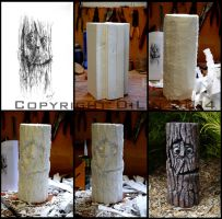 Jeremy Ironbark - From Sketch to Sculpture by Lil-el-art