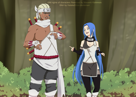 CM #24 : Killer bee and Shou by HatakeShion
