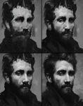 Jake Gyllenhaal Process by AaronGriffinArt