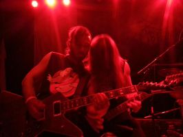 Exhumed Live 11/1/14 by metalheadrailfan