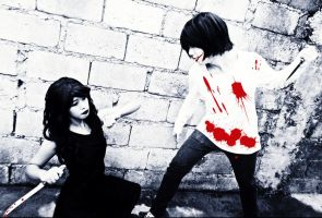 Jeff and Jane the killer by faith-xuan