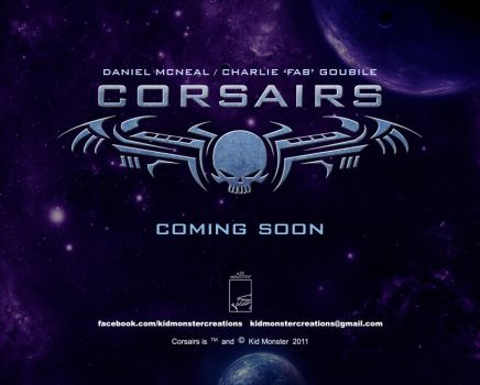 CORSAIRS TEASER 2 by charlie-fab