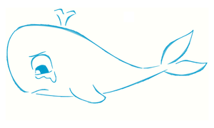 Whale is crying by h2okerim