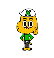 Kenny Peterson (Gumball OC) by MigsGarcia5127