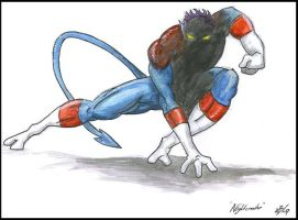 .:Nightcrawler:. by KasualtyKrew
