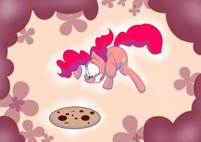 Pinkie and BIG cookie by s4vin