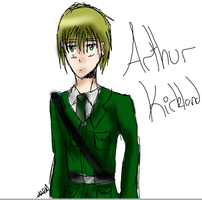 Arthur Kirkland Sketch by Angelicheartbeats