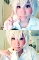 No.6 Shion Makeup Test by sorairo-days