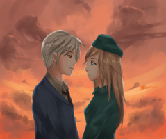 Request: Prussia x Hungary by sakura-the-kunoichi