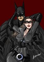 Gotham Pair by ADL-art