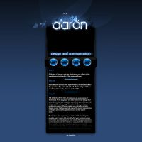 aaron webpage by r0ady