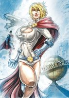 POWER GIRL by Vinz-el-Tabanas