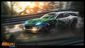 Jaguar F-Type GT1 by ATC-Design