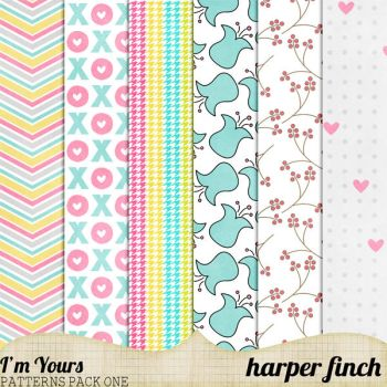 I'm Yours Patterns Pack One by harperfinch