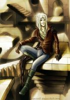 Jareth the Goblin King by spanielf