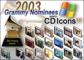 Grammy Nominees 2003 CD Icons by splat
