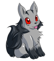 Chibi Mightyena by Jiayi