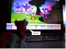 Magnet Bolt watches EQG by NovDecJan