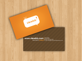 viewink business card by Rashanka