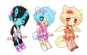 CUSTOMS FOR FRIENDOS by Kiwi-adopts