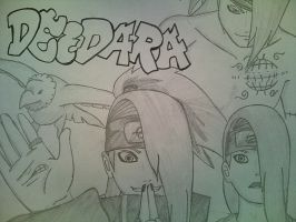 Deidara tribute by ShesheTheDiclonius