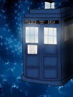 Doctor Who- Tardis by xXmcspiderXx