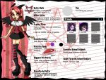 Monster High OC: Betty Meth by Luna-Akari