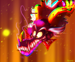 .:King Candy Cy-Dragon:. by Silver-HeartCrosser