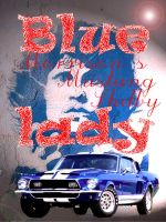 Blue Lady Morrison's Mustang by marcozambra