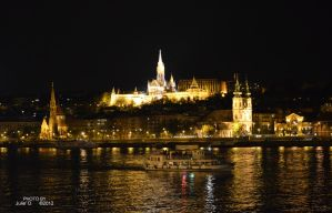 night promenade on the Danube by timelesscolors
