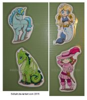 Cute set of magnets by Solkatt