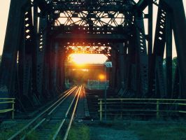 Train Bridge by Nicolemxx