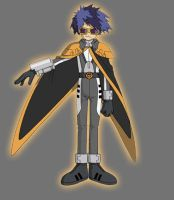 Orange Agent Digimon Emperor by Lord-Lycan