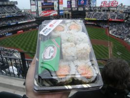 Sushi at the Ballpark by jsowinski