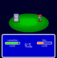 The WTF RPG: Locked Door VS Ness by Rthecreator
