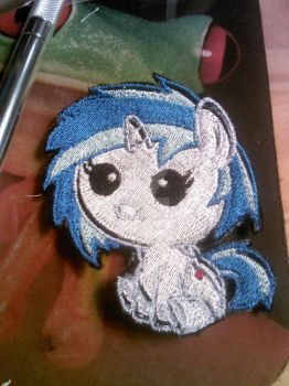 Baby Vinyl Embroidery by ravenlady13