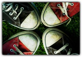 four converse all-star by med3s
