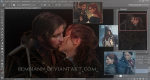 Arno and Elise (Assassin`s Creed Unity) WIP by Bembiann