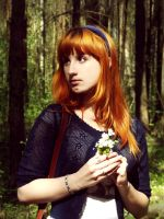 Girl, red as a Fox.(2) by AnastasyaRedhair
