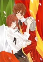 APH:Spain x Romano by kindaseiha