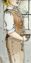 Oliver Twist Bookmark by Kitty-Grimm
