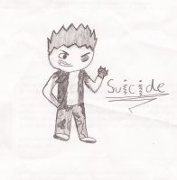 Suicide Human Form by GamerDudeArt